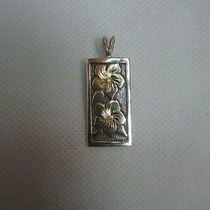Jewelry - Hawaiian Plumeria Flower pendant